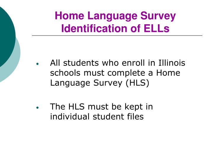 Home Language Survey