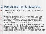 d participaci n en la eucarist a