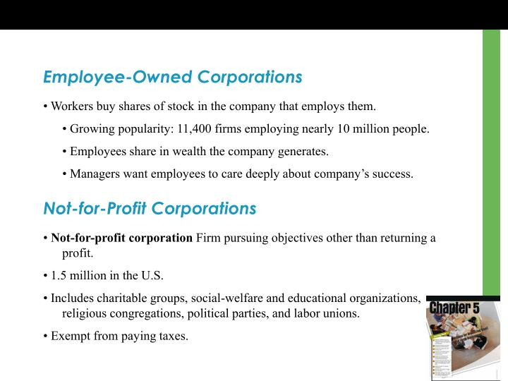 Employee-Owned Corporations