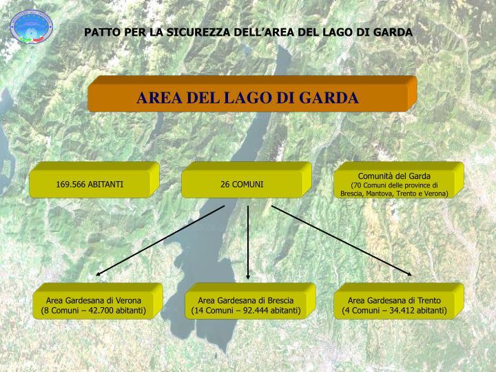 Patto per la sicurezza dell area del lago di garda