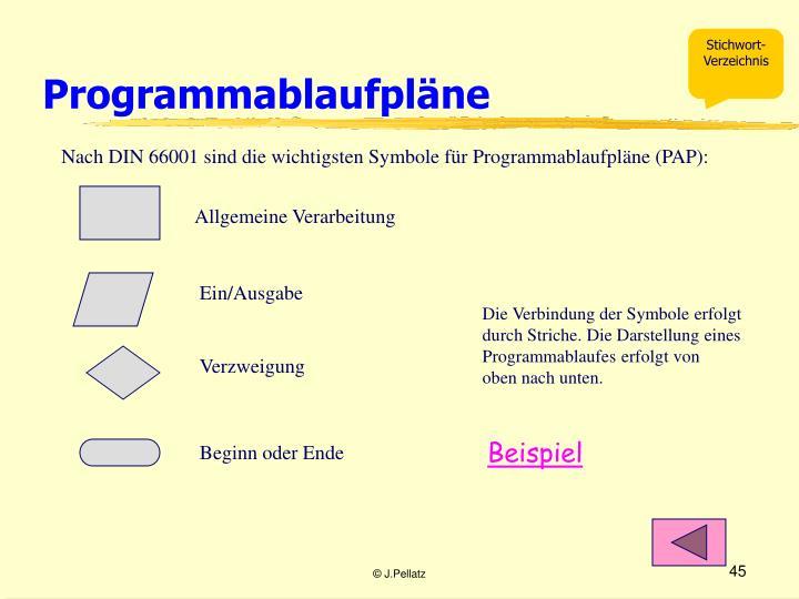 Programmablaufpläne