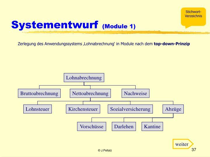 Systementwurf