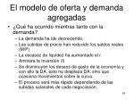 el modelo de oferta y demanda agregadas2