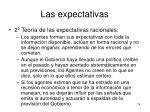 las expectativas5