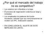 por qu el mercado del trabajo no es competitivo1