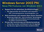 windows server 2003 pki neue pki features von windows 20031