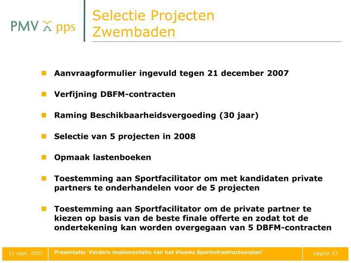 Selectie Projecten
