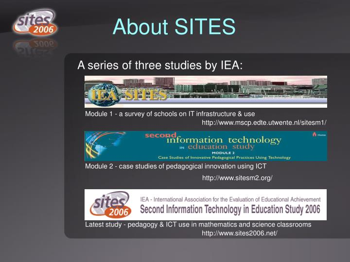 About sites