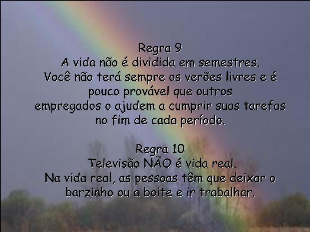 Regra 9