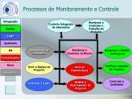 processos de monitoramento e controle