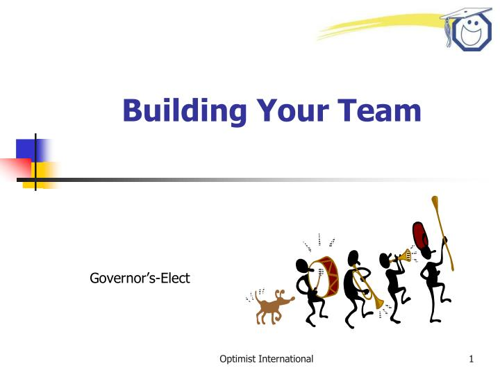 building your team n.
