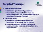targeted training1