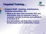 targeted training2