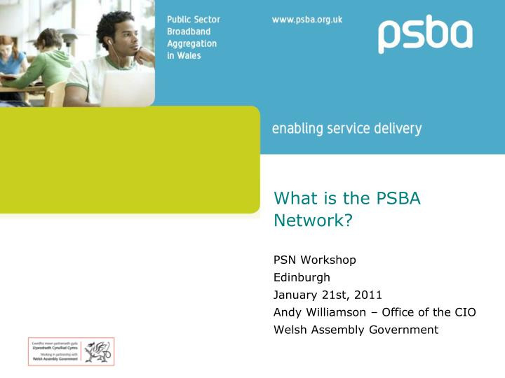 what is the psba network n.