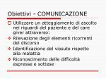 obiettivi comunicazione