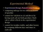 experimental method1