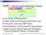 icmp internet control message protocol1