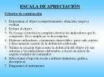 escala de apreciaci n1