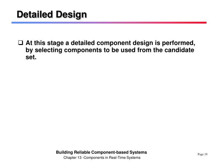 Detailed Design