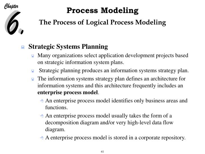 The Process of Logical Process Modeling