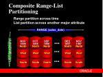 composite range list partitioning