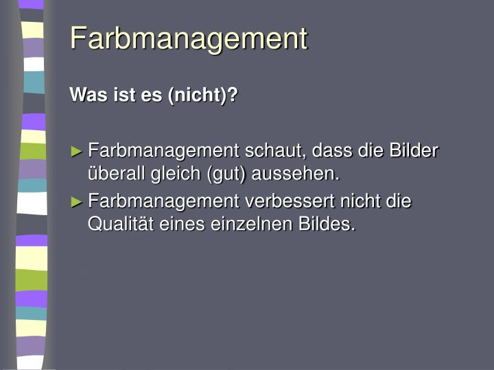 Farbmanagement1