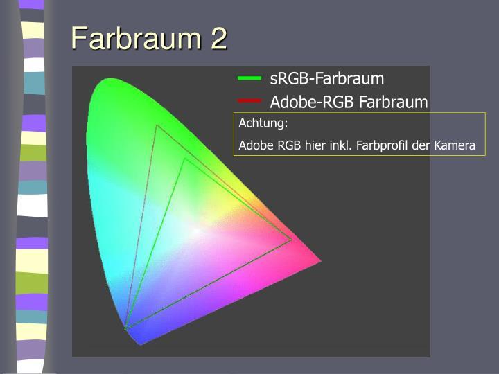 Farbraum 2