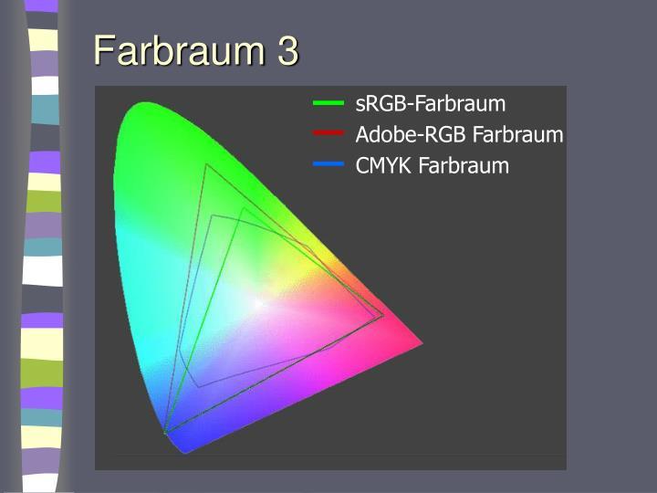 Farbraum 3