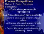 fuerzas competitivas michael e porter estrategia competitiva10