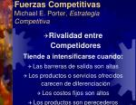 fuerzas competitivas michael e porter estrategia competitiva3