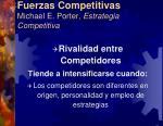fuerzas competitivas michael e porter estrategia competitiva4