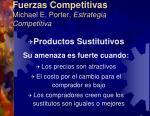 fuerzas competitivas michael e porter estrategia competitiva5