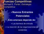 fuerzas competitivas michael e porter estrategia competitiva6