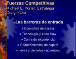 fuerzas competitivas michael e porter estrategia competitiva7