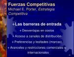 fuerzas competitivas michael e porter estrategia competitiva8