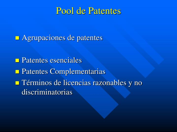 Pool de Patentes