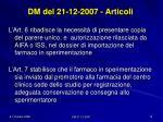 dm del 21 12 2007 articoli3