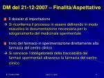 dm del 21 12 2007 finalit aspettative3
