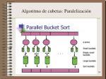 algoritmo de cubetas paralelizaci n2