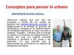 conceptos para pensar lo urbano13