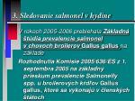 3 sledovanie salmonel v hydine