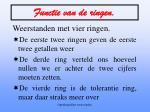 functie van de ringen