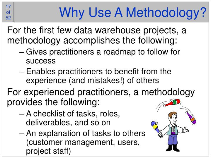 Why Use A Methodology?