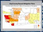 city county hazard mitigation plans