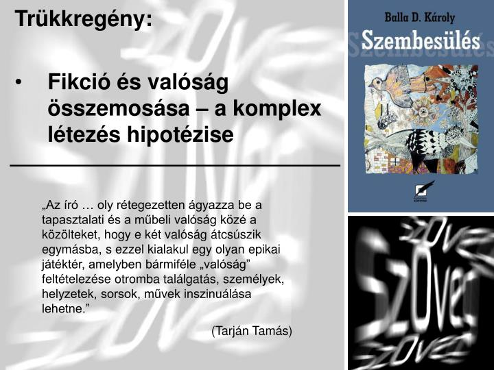 Trükkregény: