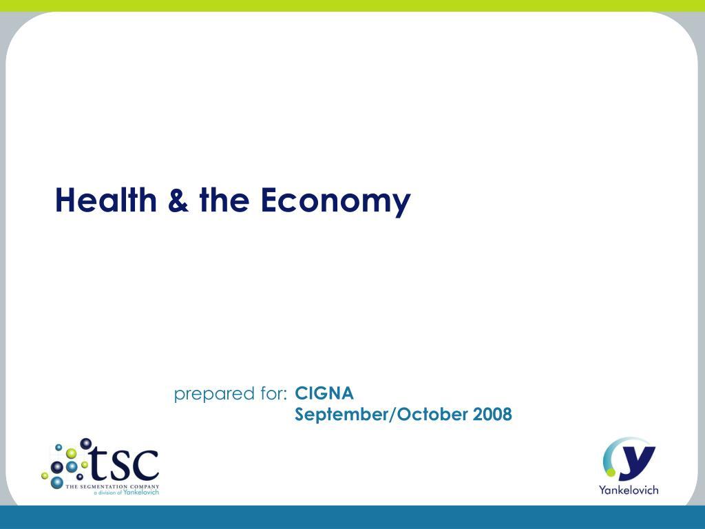 health the economy l.