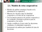 2 1 modelo de retos cooperativos