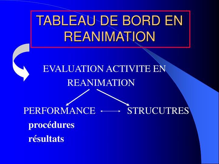 Tableau de bord en reanimation1