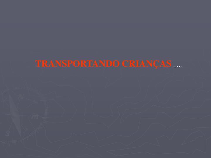 TRANSPORTANDO CRIANÇAS