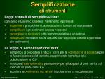 semplificazione gli strumenti1
